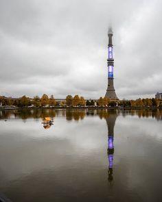 Останкинская башня. Москва. Россия