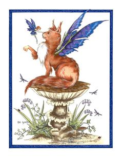 Amy Brown Be Good! Faery and Fairy cat