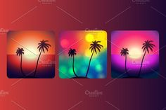 Palm Island by barsrsind on @creativemarket