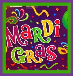 MardiGras party ideas #Mardigras