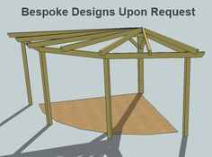 Pergolas this is the exact design I want for y backyard. Gazebo On Deck, Corner Pergola, Pergola Canopy, Outdoor Pergola, Wooden Pergola, Pergola Plans, Pergola Kits, Outdoor Rooms, Rooftop Deck