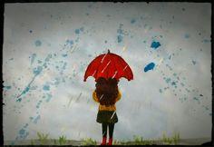 Escuchando el susurro de la lluvia me perdí en mis pensamientos...