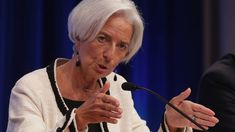 Christine Lagarde Photos - IMF-World Bank Group Annual Meetings - Zimbio Tousled Hair, Gay, World Economic Forum, Annual Meeting, New President, Power Dressing, Global Economy, When I Grow Up, Role Models