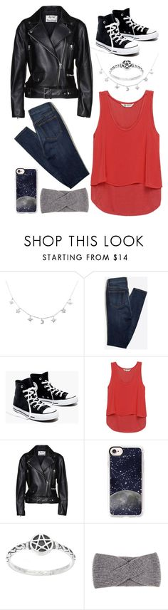 """Wiccan"" by avenueg ❤ liked on Polyvore featuring Madewell, Bobeau, Acne Studios, Casetify and Black"