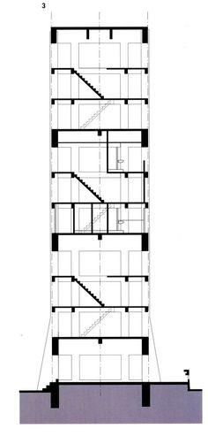 前川 國男 晴海 Kunio Maekawa Harumi Apartments