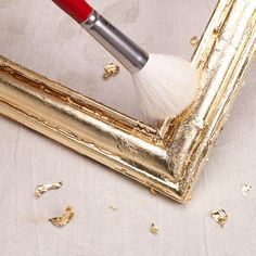 How to gild a picture frame at This Old House