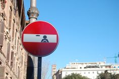 Traffic signs and street art | ScienceDump