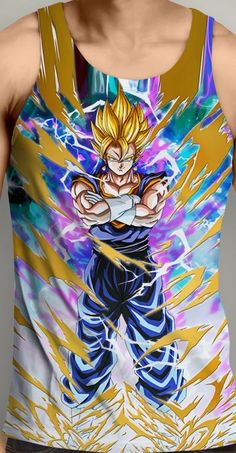 Dragon Ball Z Clothing Tank Tops Come check out all the stuff we have Free shipping on all orders! animemaniacs.me/