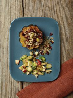 """Acorn Squash from """"The American Diabetes Association Vegetarian Cookbook"""" -- Discover simple, delicious, meatless meals perfect for everyone, from the everyday #vegetarian to the avid meat-eater looking for a hearty alternative. #recipes"""