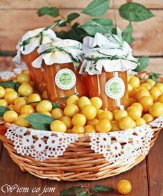 Wiem co jem: Mus mirabelkowy Preserves, Serving Bowls, Homemade, Vegetables, Tableware, Kitchen, Recipes, Preserve, Dinnerware