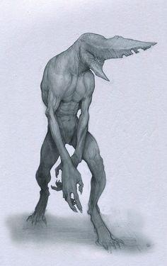 Main creature concept I plan to recreate