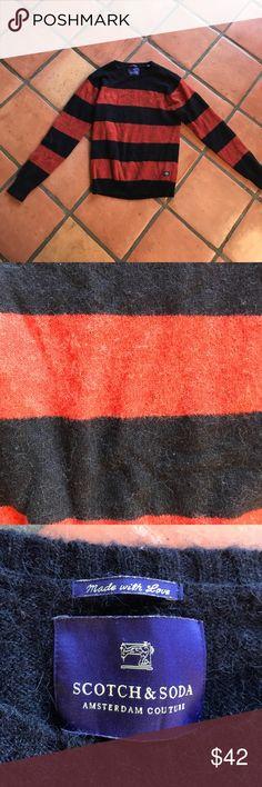 Alpaca wool blend Freddy Krueger sweater Scotch&Soda <3 Scotch & Soda Sweaters Crewneck