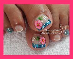 Nails, Beauty, Instagram, Finger Nails, Toe Nail Art, Pretty Toe Nails, Simple Toe Nails, Blue Nails, Ongles