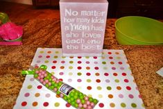 Baby Shower Polka Dots Baby Shower Party Ideas   Photo 1 of 31   Catch My Party