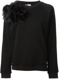 Lanvin Ruffle Detail Sweatshirt - Vitkac - Farfetch.com