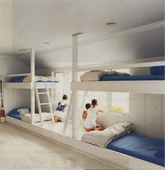 Beach bunks