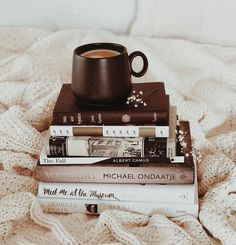 Reading Inspiration - Book and Coffee Book And Coffee, Coffee And Books, Coffee Cup, Brown Aesthetic, Autumn Aesthetic, Diy Quotes, Good Books, Books To Read, Book Flatlay