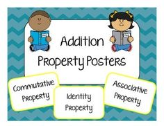 Addition Property Posters