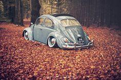 Rick Tolboom's Bagged 1959 Volkswagen Beetle - StanceWorks