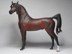 """Sahara Storm"" Cm PS Arabian Stallion. by Linda R. Elkjer"