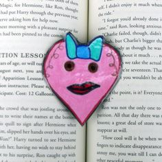 Heart Magnet, Cartoon Heart Magnet, Heart Refrigerator Magnet, Heart Fridge Magnet, Heart Kitchen Decor, Stocking Stuffers by DivinitysDivineTouch on Etsy