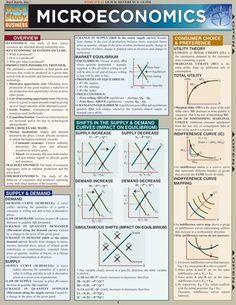 Microeconomics Laminated Reference Guide – The Economist Store & Economist Diaries