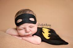 Batman Newborn Superhero for Newborn baby boy - Photography Prop - Batman - DC…