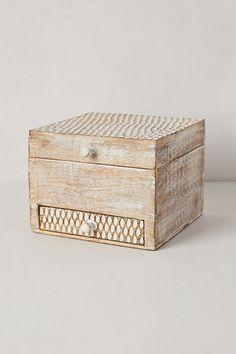 Folding Mirror Jewelry Box - anthropologie.com $29.95