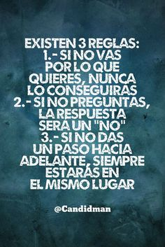 Autoayuda y Superacion Personal Motivacional Quotes, Words Quotes, Wise Words, Sayings, Frases Emo, Coaching, More Than Words, Spanish Quotes, Positive Quotes