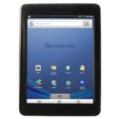 Pandigital Novel 2GB 7-Inch WiFi Multimedia Android Tablet and Color eReader R70E200 (Black) - Factory Remanufactured and Warrantied.    List Price: $149.99  Buy New: $57.95  You Save: 61%  Deal by: eReaderShoppers.com