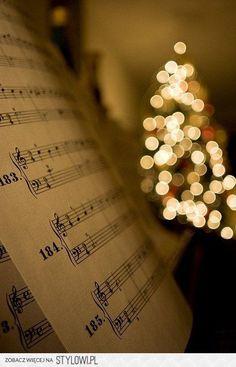 music bokeh art / sheet music / love of music / musical images
