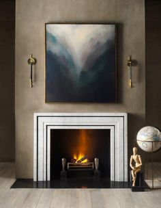 Contemporary Fire Surround
