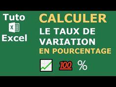 Comment calculer le pourcentage d'augmentation ou de réduction sur Excel ? - YouTube Microsoft Excel, Augmentation, Good To Know, Budgeting, Coaching, Finance, Management, Internet, Messages