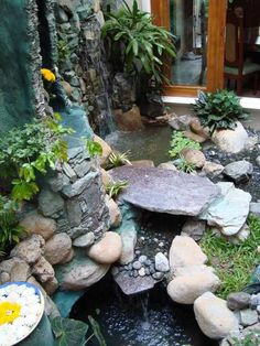 Image result for back yard patio koi ponds