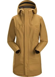 Waterproof, windproof, breathable GORE-TEX protection with city style. City Style, Gore Tex, Coats For Women, Arcade, The Help, Raincoat, Urban, Jackets, Shopping