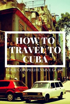 Here's the step by step process you should follow to plan yourself a fun,  safe, and legal trip to Cuba...