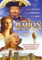 Las Aventuras del barón Munchausen [Enregistrament de vídeo] / directed by Terry Gilliam ; screenplay by Charles Mckeown & Terry Gilliam Madrid : Columbia Tristar Home Video, cop. 1999 http://cataleg.upc.edu/record=b1450392~S1*cat