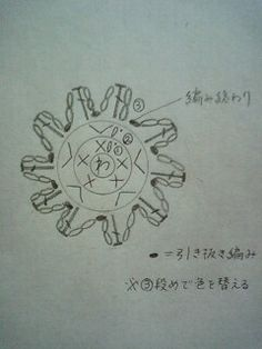 花びら10枚の小花モチーフの作り方 手順|1|編み物|編み物・手芸・ソーイング|ハンドメイドカテゴリ|ハンドメイド、手作り作品の作り方ならアトリエ
