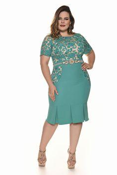 Resultado de imagem para modelo vestido senhora plus size