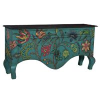 *Colorful French Country Sideboard | BelleEscape.com
