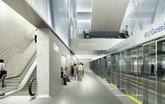 Rennes Metro Station / Atelier Zündel & Cristea,Courtesy Atelier Zündel & Cristea