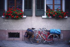 Flower boxes and bicycles abound in Germany.  -- www.melawend.com