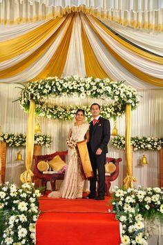 Kerala Christian Wedding Stage Decor Wedding Planner In Pala Kerala