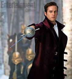 armie hammer • snow white ... yes please.