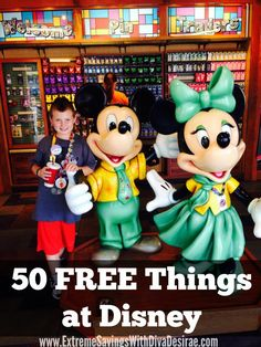 50 FREE Things at Disney World or Land! Who doesn't love FREE?