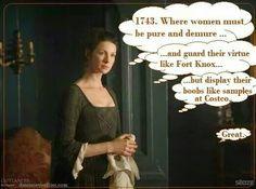 Claire (Catriona Balfe) Outlander