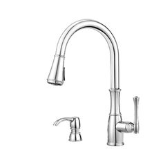 Pfister GT529-WHC Wheaton Pull-Down Kitchen Faucet - Chrome