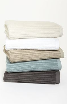 Nordstrom at Home 'Modern Rib' Bath Towel (2 for $39) available at Nordstrom