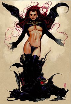 Goblin Queen by Adam Hughes *