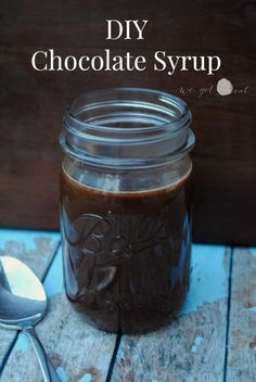 DIY Chocolate Syrup.  An easy and tasty swap that you don't have to buy at the store anymore.